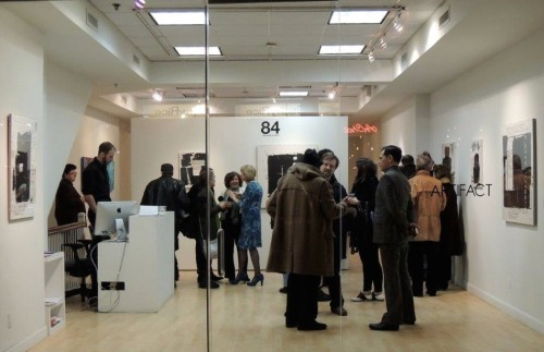 Solo Exhibition.   ARTIFACT in New York 2013