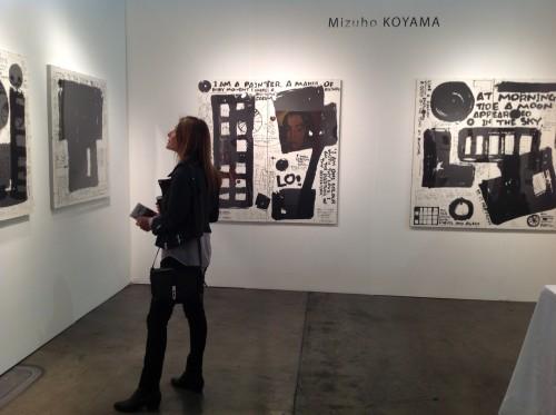Solo Exhibition in LA ART SHOW 2015. Los Angelus. U.S.A.