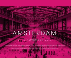 AFFORDABLE ART FAIR AMSTERDAM / 2-5 November 2017