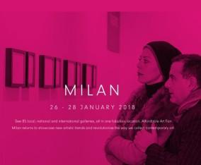AFFORDABLE ART FAIR MILAN / 26~28 JANUARY 2018