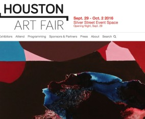 Houston Fine Art Fair 2016 / September 29 ~ October 2 / Silver Street Event Space / Texas U.S.A.