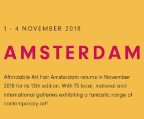 AFFORDABLE ART FAIR AMSTERDAM / November 1~4. 2018