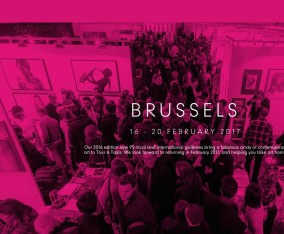 Affordable Art Fair Brussels / 2017. February 16 ~ 20 / Brussels Belgium