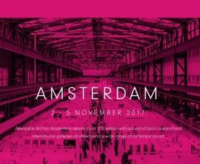 AFFORDABLE ART FAIR AMSTERDAM / 2-5 November 2017
