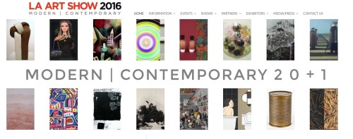 LA ART SHOW 2016 / at Los Angeles Convention Center/ January 27-31, 2016 / Booth#808 KITAI