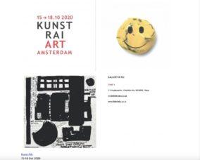 Art Fair in Amsterdam 2021.