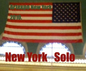 Solo Exhibition in New York /  Artexpo New York 2010, PIRE 94